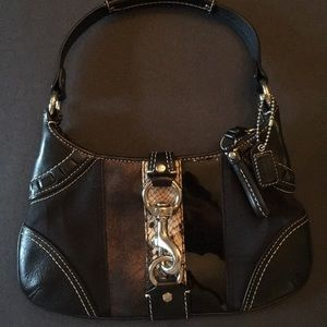 Coach mini hobo bag in excellent condition.